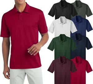 9843aa8e Mens Polo BIG & TALL Moisture Wicking Dri Fit LT XLT, 2XLT, 3XLT ...
