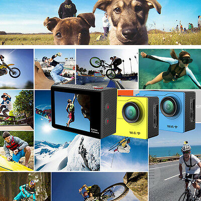 H9 2.0 Inch 170 Degree Wide Angle Full HD 4K Wi-Fi Sport Action Camera F7