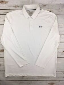 1b2171788b Mens Under Armour Polo Playoff Long Sleeve Golf Shirt Stretch Tech ...