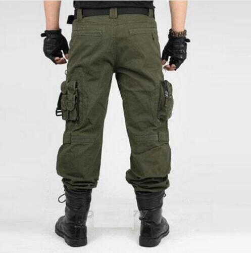 Homme Cargo militaires Habillement Tactique Pantalons Outdoor Camouflage Workwear trouserssz