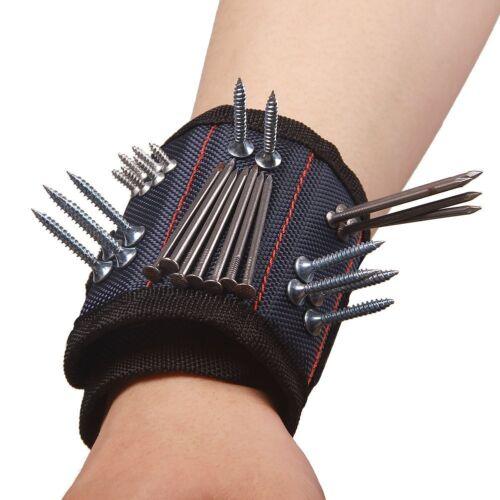 Polyvalent Magnétique Bracelet avec Puissants Aimants pour Support Vis Hl0704