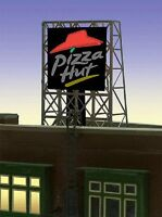 Pizza Hut Animated Billboard 33-8985 Z Or N Scale Miller Engineering