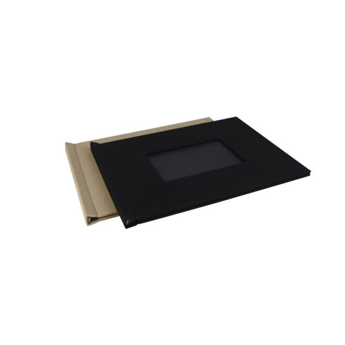 "8/"" x 10/"" Black Landscape With Window 1 x Pinchbook Photo Album"