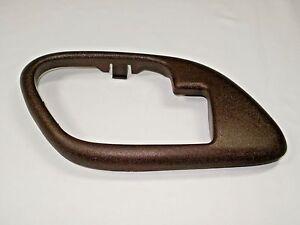 Chevy Silverado Red Interior Door Handle Bezel Driver 1995 1996 1997 1998 1999 Ebay