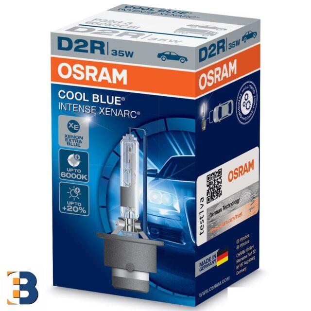 OSRAM COOL BLUE INTENSE D2R Xenarc 66250CBI HID Car Headlight Single 6000k Xenon
