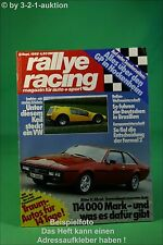 Rallye Racing 9/82 Bitter SC 4WD Ford Escort BDA BMW M1