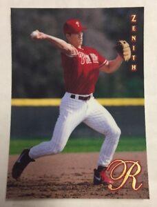 SCOTT-ROLEN-1997-Pinnacle-Zenith-Rookie-Card-RC-49-Phillies-Cardinals