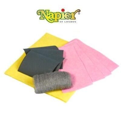 Napier Ultra Clean Bore Cleaning Material Roll of Patches Gun Rifle Shotgun VP90