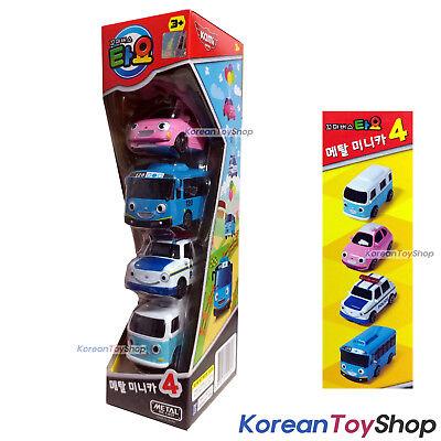 Tayo Little Bus Mini Metal Toy Car 4 pcs Set Heart Tayo Pat Bongbong Original | eBay