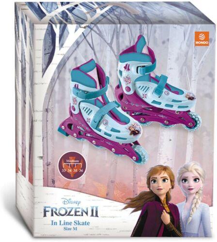 Mondo toys pattini in linea regolabili TG M design frozen ii in line skates