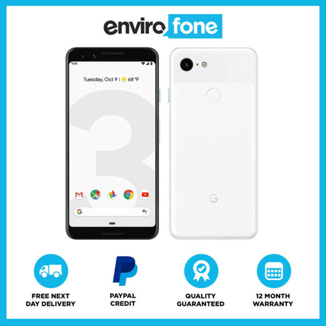 4cf8686c671d3c Google Pixel 3 - 128GB - Clearly White (Unlocked) for sale online | eBay
