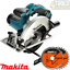 Makita-DSS611Z-165-mm-18-V-Li-Ion-Scie-Circulaire-amp-165-mm-x-20-mm-x-24-T-48-T-Lames miniature 1