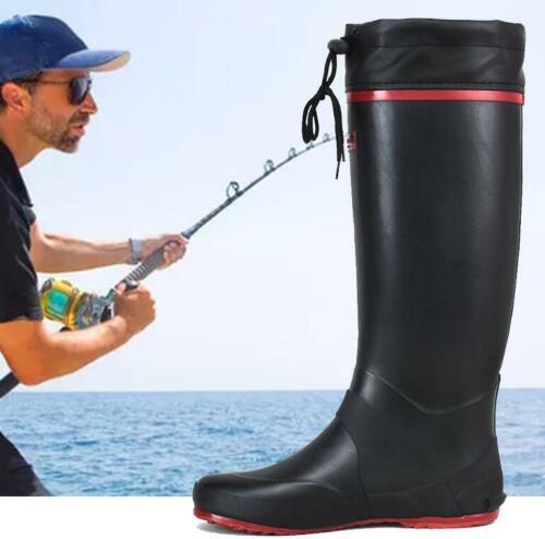 Foldable Gummistiefel Natural Gummi Herren Stiefel Anglerstiefel Outdoor Schuhe