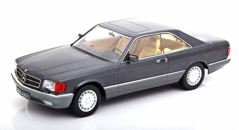 Mercedes Benz 560 Sec C126 Anthrazit 1980 1 18 Model KK SCALE