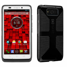 new arrival dc659 ba2f9 Speck CandyShell Grip Cell Phone Case for Motorola Droid Maxx Black