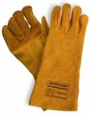 "Jefferson 16"" Welding Gauntlet Gloves Kevlar Stitched"