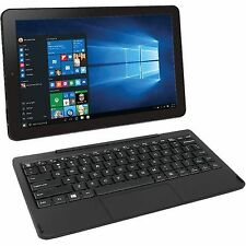 "Brand New RCA Cambio 10.1"" 2-in-1 32GB Windows 10 Intel Atom Tablet w/ Keyboard"
