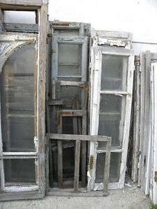 Vecchie porte finestre prezzo per la coppia varie misure altezza a scelta arredo ebay - Porte vecchie in legno ...