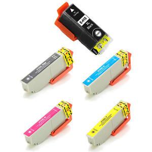 5PK ink for Epson T410XL Expression Premium XP-530 XP-630 XP-640 XP-830