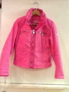 Jacket Kvinder Coat Ski Lined Hood Thinsulate Størrelse 4 Marker Snowboarding Pink Sq58w