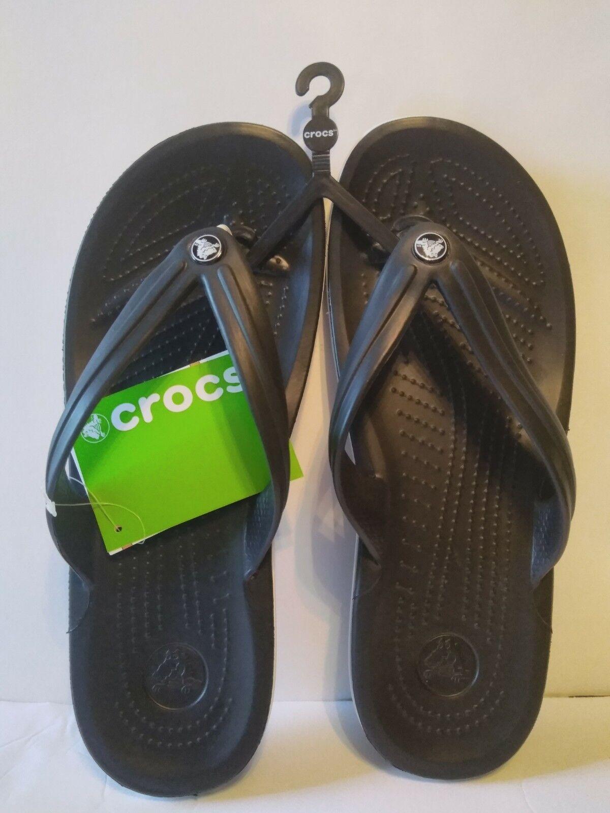 568d749cf081 Man s Woman s Crocs Unisex Crocband™ Flip size size size m9 w11 Queensland  Modern