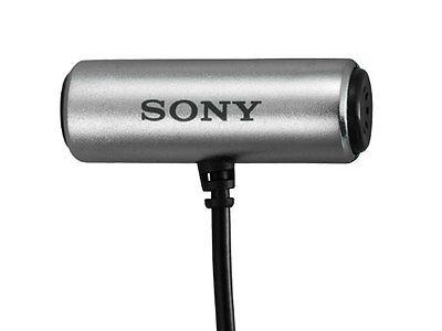 New SONY ECM-CS3 Electret Condenser Stereo Microphone Japan F/S