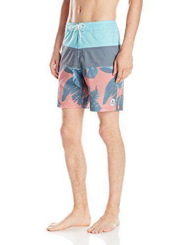 Billabong Men Tribong Bredanicle Cranberry Lo Tides Boardshorts Swimwear Sz 32