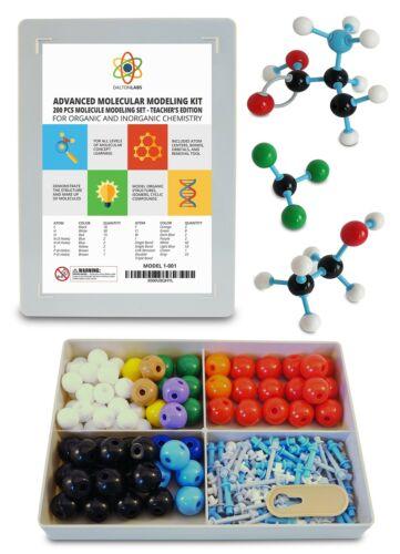 Molecular Model Kit with Molecule Building Software Dalton Labs Organic Chem...