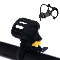 360° Bike Bicycle Cycling Flashlight Torch Mount LED Light Holder Camp Rubber