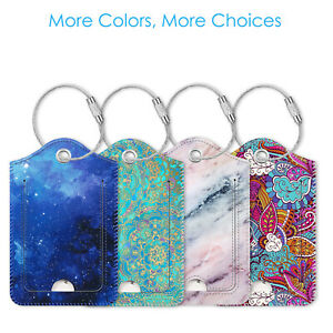 2-Pcs-Luggage-Tags-Name-Card-Holder-Travel-Bag-Suitcase-Backpack-Labels