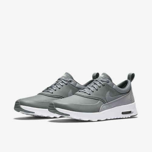 NIKE AIR MAX THEA PREMIUM.. STEALTH GREY  PLATINUM.. FAST SHIPPING
