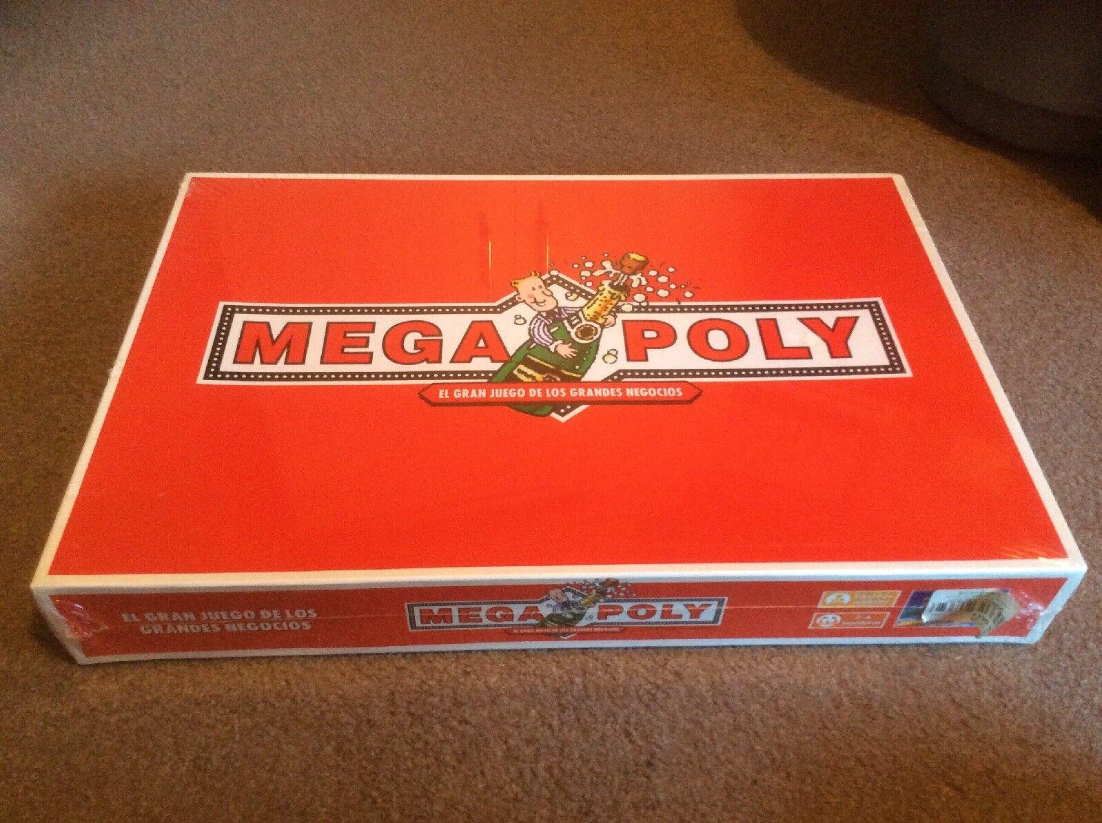 Megapoly-SPAGNOLA Monopoly Gioco, Nuovo e Sigillato