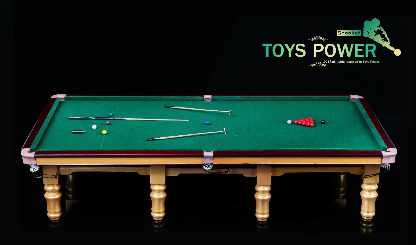 New Toys Power  Stephen Hendy and Snooker table 1 6 figure hot 12""