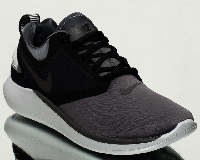 3272098e88b4 Nike LunarSolo men running run sneakers NEW dark grey multi-color AA4079-012
