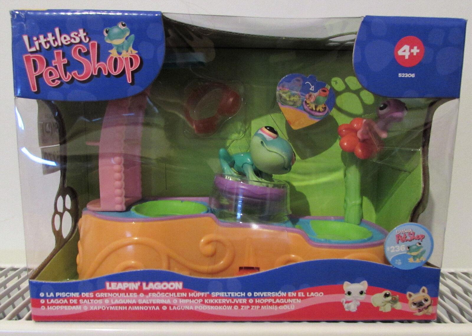 Littlest Pet Shop Leapin' Lagoon Play Set Green Frog BNIB