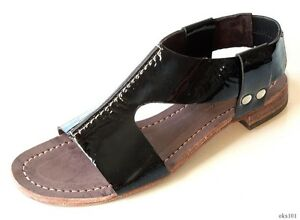 gladiateur Italie Gozzi Alberto 358 vernies Nouveau Chaussures noires Superbes afIwx