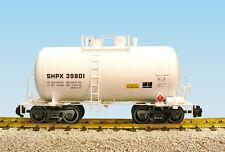 USA Trains G Scale Beer Can Tank Car R15205  S.H.P.X. - White
