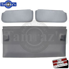 85-87 GN T-Type T-Top Roof GRAY Cloth Foam Headliner w/ ABS Board & SUN VISORS