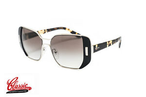 Prada-PR-59SS-1AB0A7-54-Silver-Black-Havana-Grey-Gradient-Lens-Womens-Sunglasses