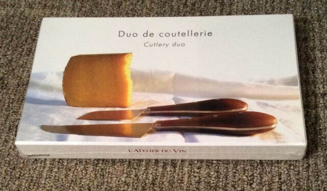 Joseph Joseph Duo Magnetic Cheese Knife Set New Sealed For Sale