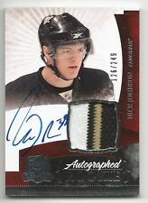 10-11 Nick Johnson The Cup Auto Rookie Card RC #135 Sweet Jersey Patch 126/249
