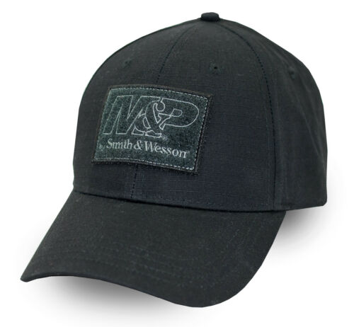 M/&P by SMITH /& WESSON *BLACK TWILL* HAT CAP *NEW* MP23