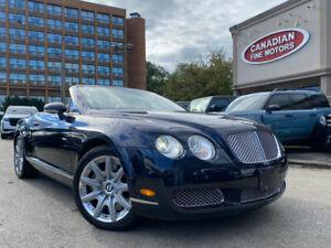 2007 Bentley Continental GTC CONVERTIBLE | NAVI | AWD | 12 CYL | 552 HP !! |