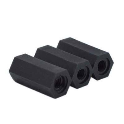 25//50//100pcs Plastic Nylon M3 Hex Column Standoff Support Spacer Screw Nut #2 QL