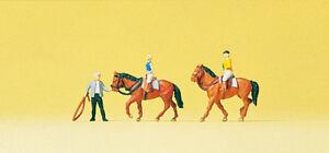 Preiser 79185 Spur N Figuren, Auf dem Reiterhof #NEU in OVP#