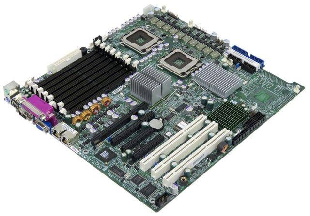MOTHERBOARD SUPERMICRO X7DBE 2x LGA771 DDR2 SATA