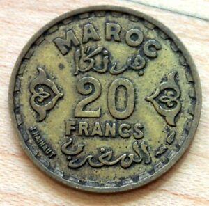 1371 Morocco 20 Francs