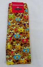 6ab5692904a item 2 Sockalicious Girls Teddy Bear Emoji Print Knee High Fun Novelty Socks  SOX -Sockalicious Girls Teddy Bear Emoji Print Knee High Fun Novelty Socks  SOX