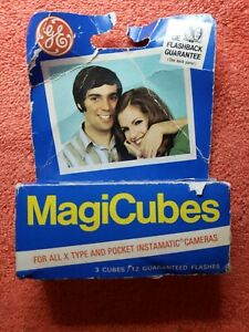 2-Vintage-GE-MagiCubes-Flash-3-Pack-Flash-Cubes-for-X-Type-Cameras
