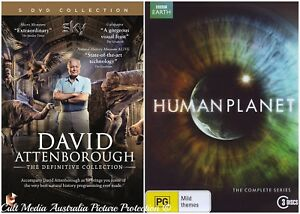 DAVID-ATTENBOROUGH-DEFINITIVE-HUMAN-PLANET-DOCUMENTARIES-COLLECTION-NEW-8-DVD-R4